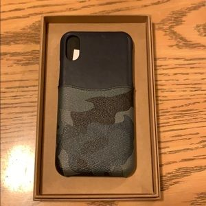 Coach IPhone XS Case